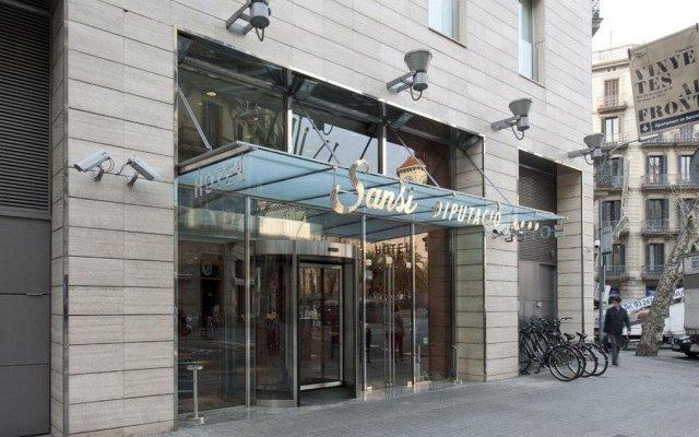 Отель Sansi Diputacio вид на фасад