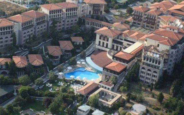 Отель Klassis Resort вид на фасад
