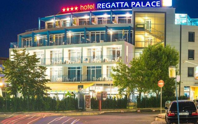 Отель Yavor Palace Солнечный берег вид на фасад