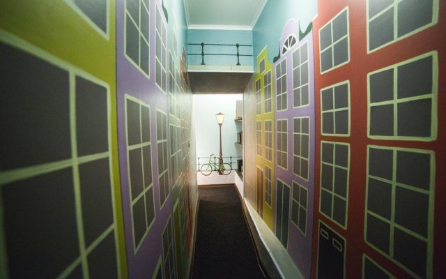 Art Hostel Contrast вид на фасад