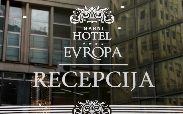 Отель Evropa Сербия, Белград - отзывы, цены и фото номеров - забронировать отель Evropa онлайн вид на фасад