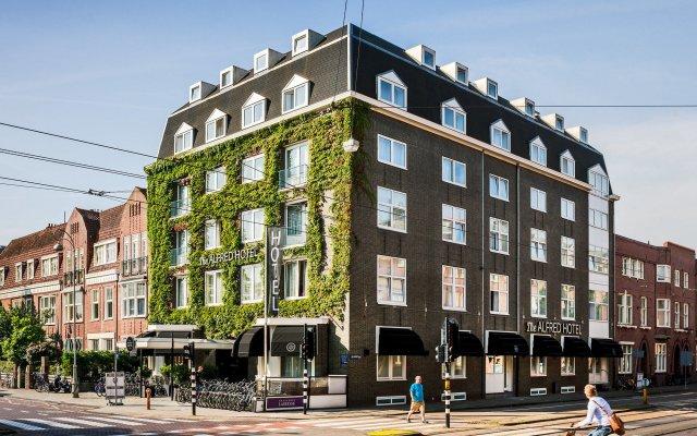 Отель Alfred Hotel Нидерланды, Амстердам - 4 отзыва об отеле, цены и фото номеров - забронировать отель Alfred Hotel онлайн вид на фасад