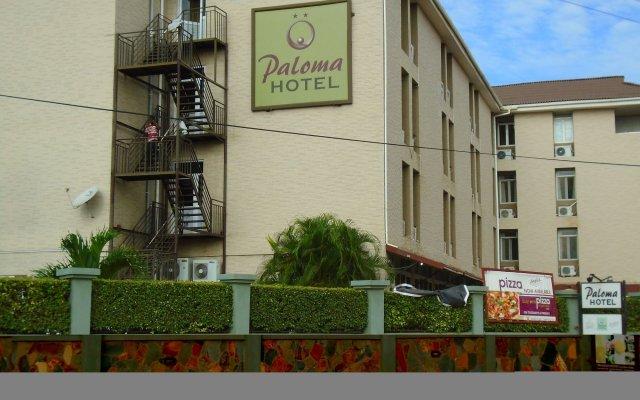 Palma Hotel вид на фасад