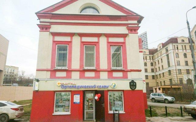 Хостел Арамболь Казань вид на фасад
