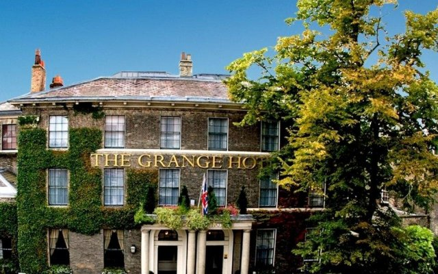 Отель The Grange Hotel Великобритания, Йорк - отзывы, цены и фото номеров - забронировать отель The Grange Hotel онлайн вид на фасад