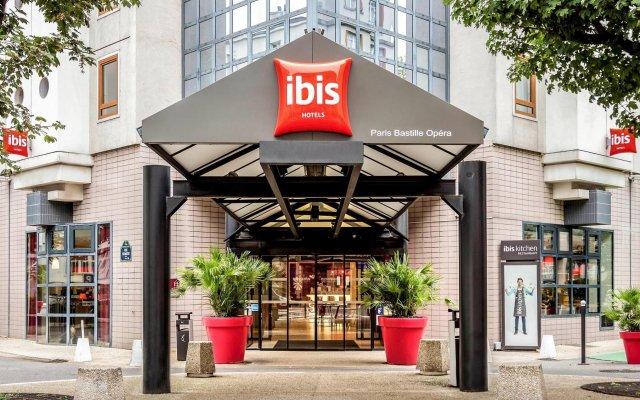 Отель ibis Paris Bastille Opera Франция, Париж - отзывы, цены и фото номеров - забронировать отель ibis Paris Bastille Opera онлайн вид на фасад
