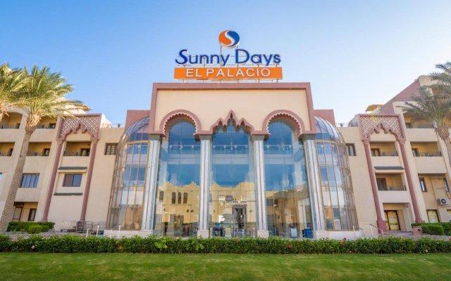 Отель Sunny Days El Palacio Resort & Spa вид на фасад