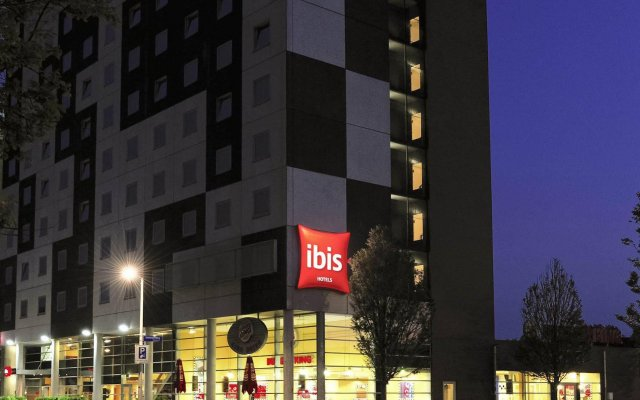 Hotel Ibis Amsterdam City West вид на фасад
