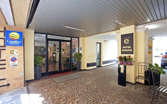 Отель Europa Италия, Генуя - 14 отзывов об отеле, цены и фото номеров - забронировать отель Europa онлайн вид на фасад