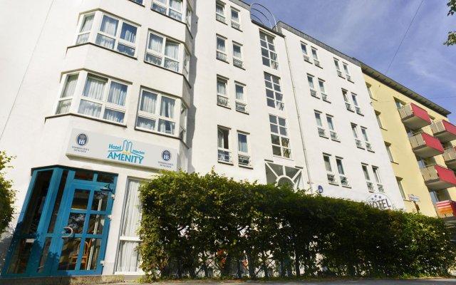 Отель AMENITY Мюнхен вид на фасад