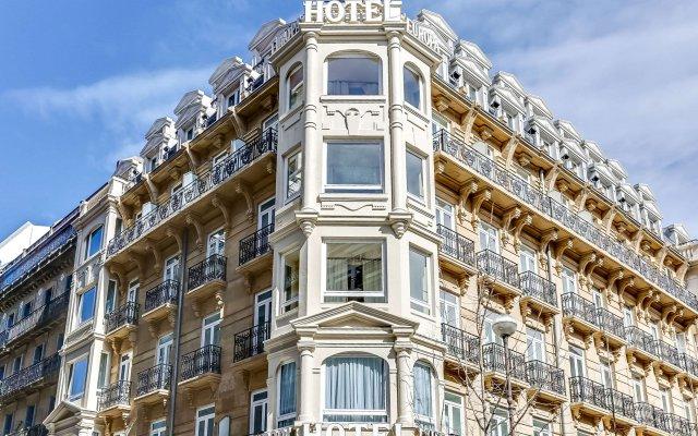 Отель Sercotel Hotel Europa Испания, Сан-Себастьян - 1 отзыв об отеле, цены и фото номеров - забронировать отель Sercotel Hotel Europa онлайн вид на фасад