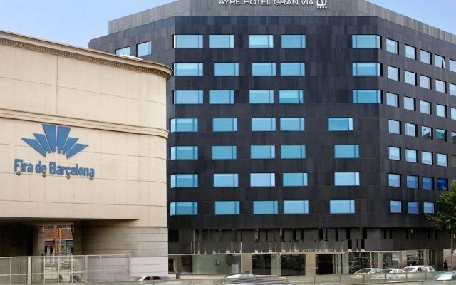 Отель Ayre Gran Via Испания, Барселона - 4 отзыва об отеле, цены и фото номеров - забронировать отель Ayre Gran Via онлайн вид на фасад