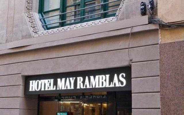 Отель May Ramblas Hotel Испания, Барселона - отзывы, цены и фото номеров - забронировать отель May Ramblas Hotel онлайн вид на фасад
