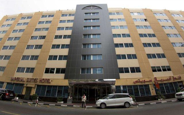 Отель Imperial Suites Hotel ОАЭ, Дубай - отзывы, цены и фото номеров - забронировать отель Imperial Suites Hotel онлайн вид на фасад