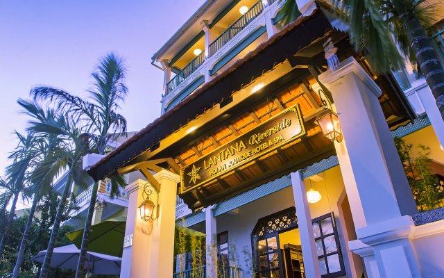 Lantana Hoi An Riverside Boutique Hotel вид на фасад