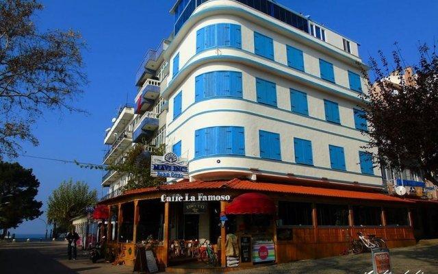 Отель Mavi Inci Park Otel вид на фасад