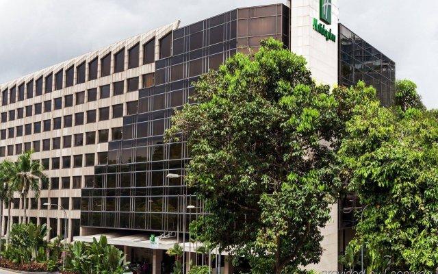 Отель Holiday Inn Singapore Orchard City Centre вид на фасад