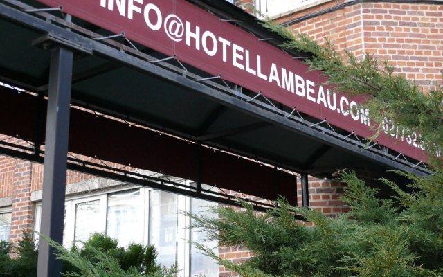 Отель Lambeau Бельгия, Брюссель - отзывы, цены и фото номеров - забронировать отель Lambeau онлайн вид на фасад