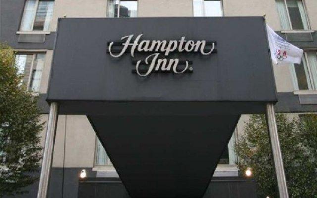 Отель Hampton Inn Manhattan-Chelsea США, Нью-Йорк - отзывы, цены и фото номеров - забронировать отель Hampton Inn Manhattan-Chelsea онлайн вид на фасад