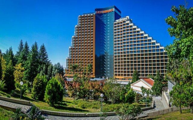 Гостиница Оздоровительный комплекс «Дагомыс» в Сочи 9 отзывов об отеле, цены и фото номеров - забронировать гостиницу Оздоровительный комплекс «Дагомыс» онлайн вид на фасад