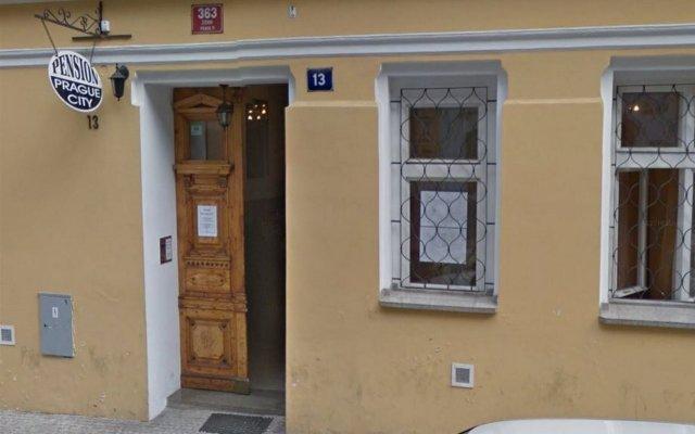 Отель Pension Prague City вид на фасад