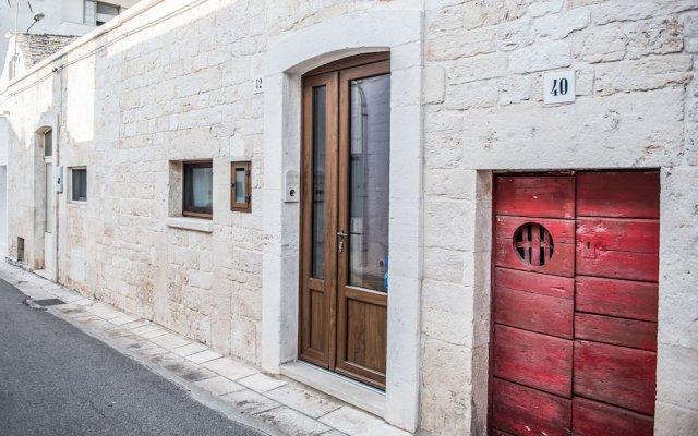 Отель B&B Panaro Альберобелло вид на фасад
