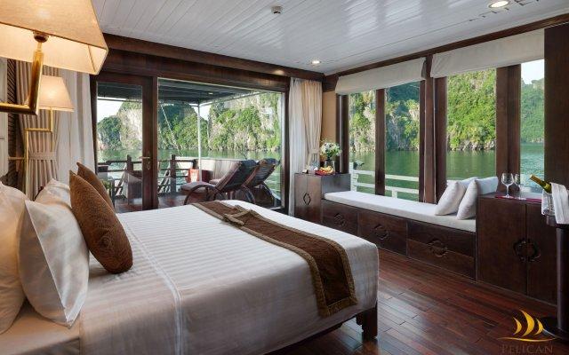 Отель Pelican Halong Cruise комната для гостей