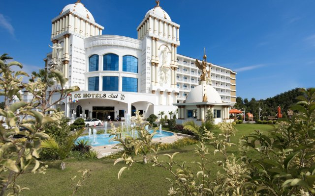 Oz Hotels SUI Турция, Аланья - 1 отзыв об отеле, цены и фото номеров - забронировать отель Oz Hotels SUI - All Inclusive онлайн вид на фасад