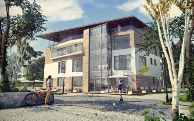 Отель Tawerna Rybaki Сопот вид на фасад
