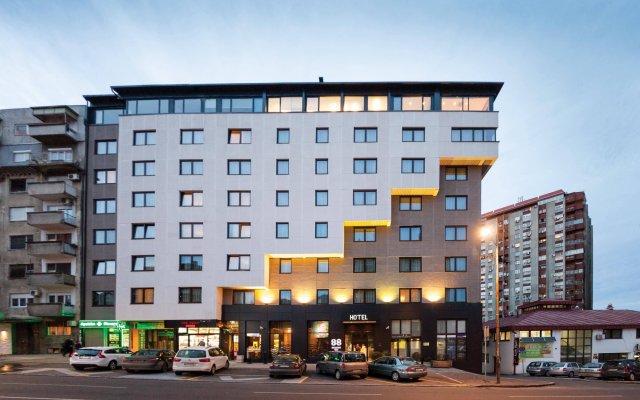 Отель 88 Rooms Hotel Сербия, Белград - 3 отзыва об отеле, цены и фото номеров - забронировать отель 88 Rooms Hotel онлайн вид на фасад
