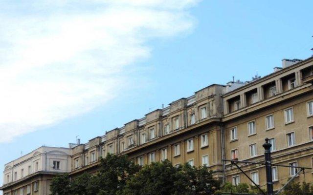 Отель P&O Apartments Andersa 1 Польша, Варшава - отзывы, цены и фото номеров - забронировать отель P&O Apartments Andersa 1 онлайн вид на фасад