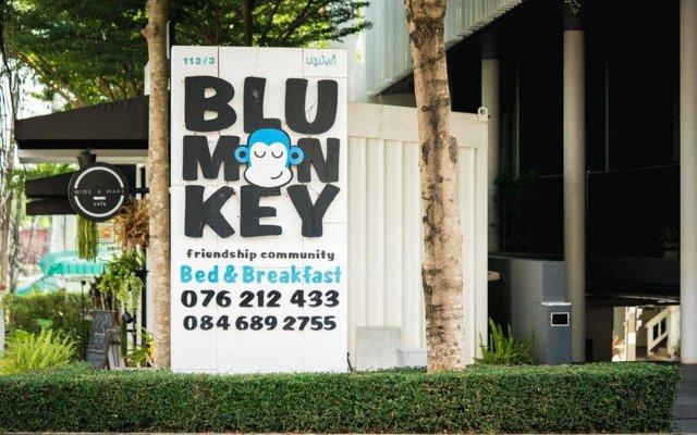 Отель Blu Monkey Bed & Breakfast Phuket Таиланд, Пхукет - отзывы, цены и фото номеров - забронировать отель Blu Monkey Bed & Breakfast Phuket онлайн вид на фасад