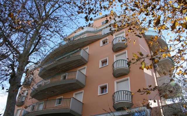 Отель Residenza Novalba вид на фасад