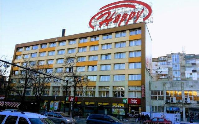 Hotel Orbita вид на фасад