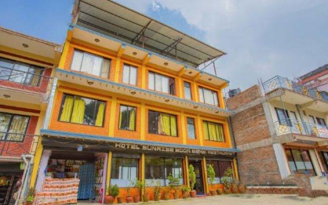 Отель OYO 412 Sunrise Moon Beam Hotel Непал, Нагаркот - отзывы, цены и фото номеров - забронировать отель OYO 412 Sunrise Moon Beam Hotel онлайн вид на фасад
