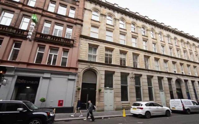 Отель The Loft Merchant City Central Location Великобритания, Глазго - отзывы, цены и фото номеров - забронировать отель The Loft Merchant City Central Location онлайн вид на фасад