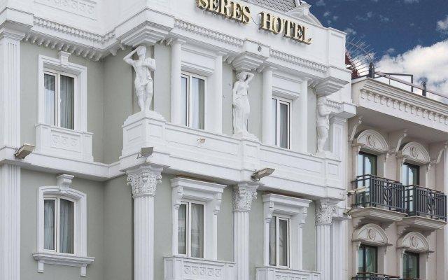 Отель SERES Стамбул вид на фасад