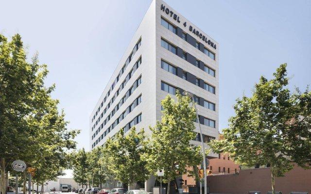 Отель 4 Barcelona Испания, Барселона - - забронировать отель 4 Barcelona, цены и фото номеров вид на фасад
