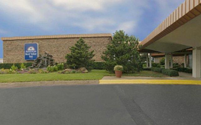 Отель Americas Best Value Inn Fort Worth/Hurst вид на фасад