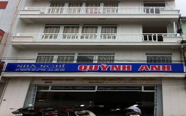 Отель Quynh Anh Guest House Далат вид на фасад