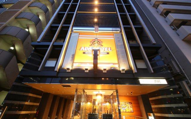 APA Hotel Higashi Shinjuku Ekimae вид на фасад