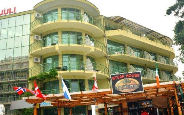 Отель Juli Болгария, Солнечный берег - отзывы, цены и фото номеров - забронировать отель Juli онлайн вид на фасад