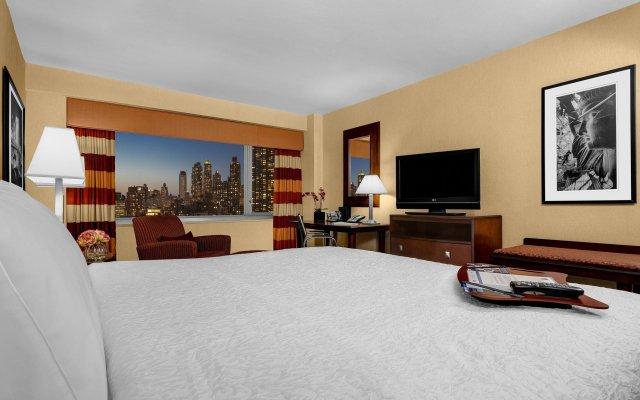 Отель Hampton Inn Manhattan-Times Square North США, Нью-Йорк - 1 отзыв об отеле, цены и фото номеров - забронировать отель Hampton Inn Manhattan-Times Square North онлайн комната для гостей
