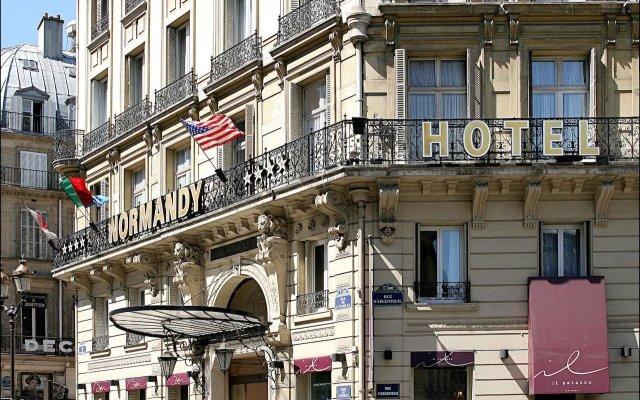 Normandy Hotel Париж вид на фасад
