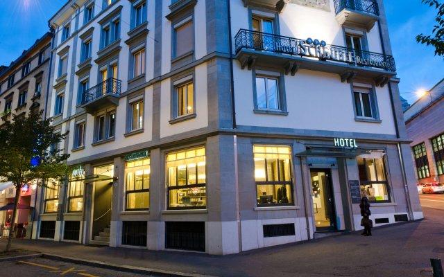 Scheuble Hotel вид на фасад