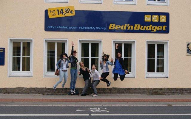 BednBudget Hostel Dorms Hannover вид на фасад
