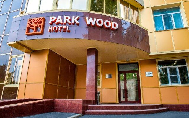 Гостиница Park Wood Академгородок вид на фасад