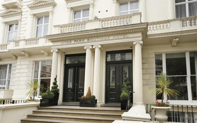Hyde Park Boutique Hotel вид на фасад