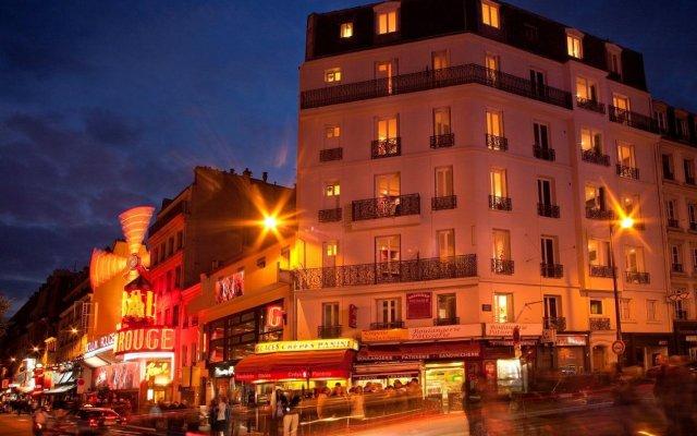 Отель Résidence Blanche Париж вид на фасад