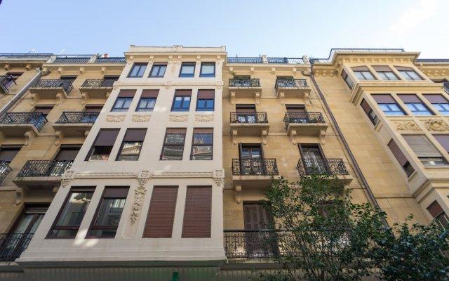 Отель Sausalito - Iberorent Apartments Испания, Сан-Себастьян - отзывы, цены и фото номеров - забронировать отель Sausalito - Iberorent Apartments онлайн вид на фасад